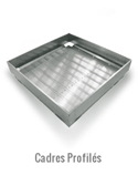 Cadres et profilés pour toitures